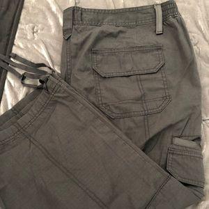 Eddie Bauer Cargo Capri pants.